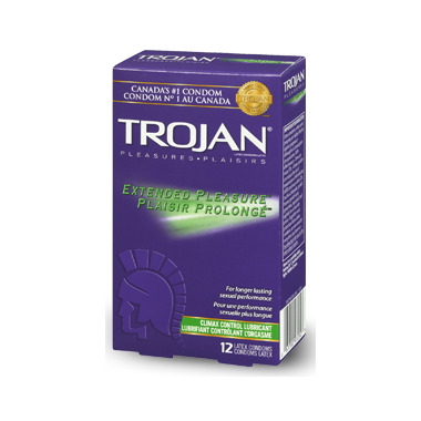 Trojan climax control condoms review