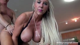 Year old nicole bexley takes a monster cock