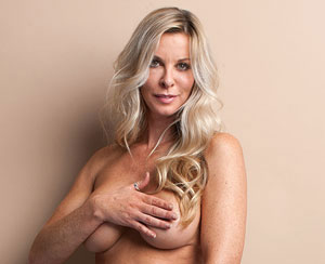 Nude women in their 40s