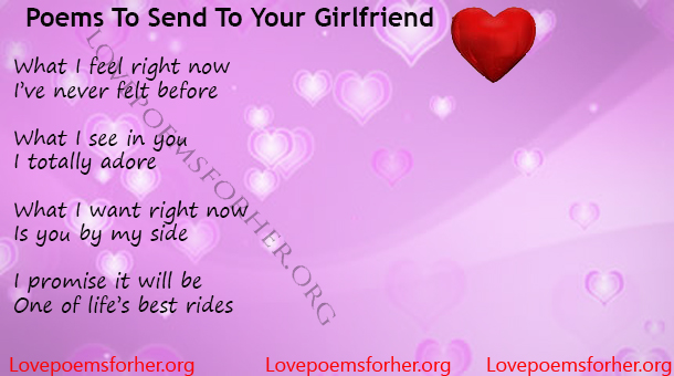 Best love poems for girlfriend