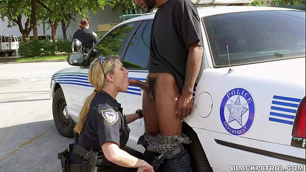 Cop gets blowjob and mature police suspects