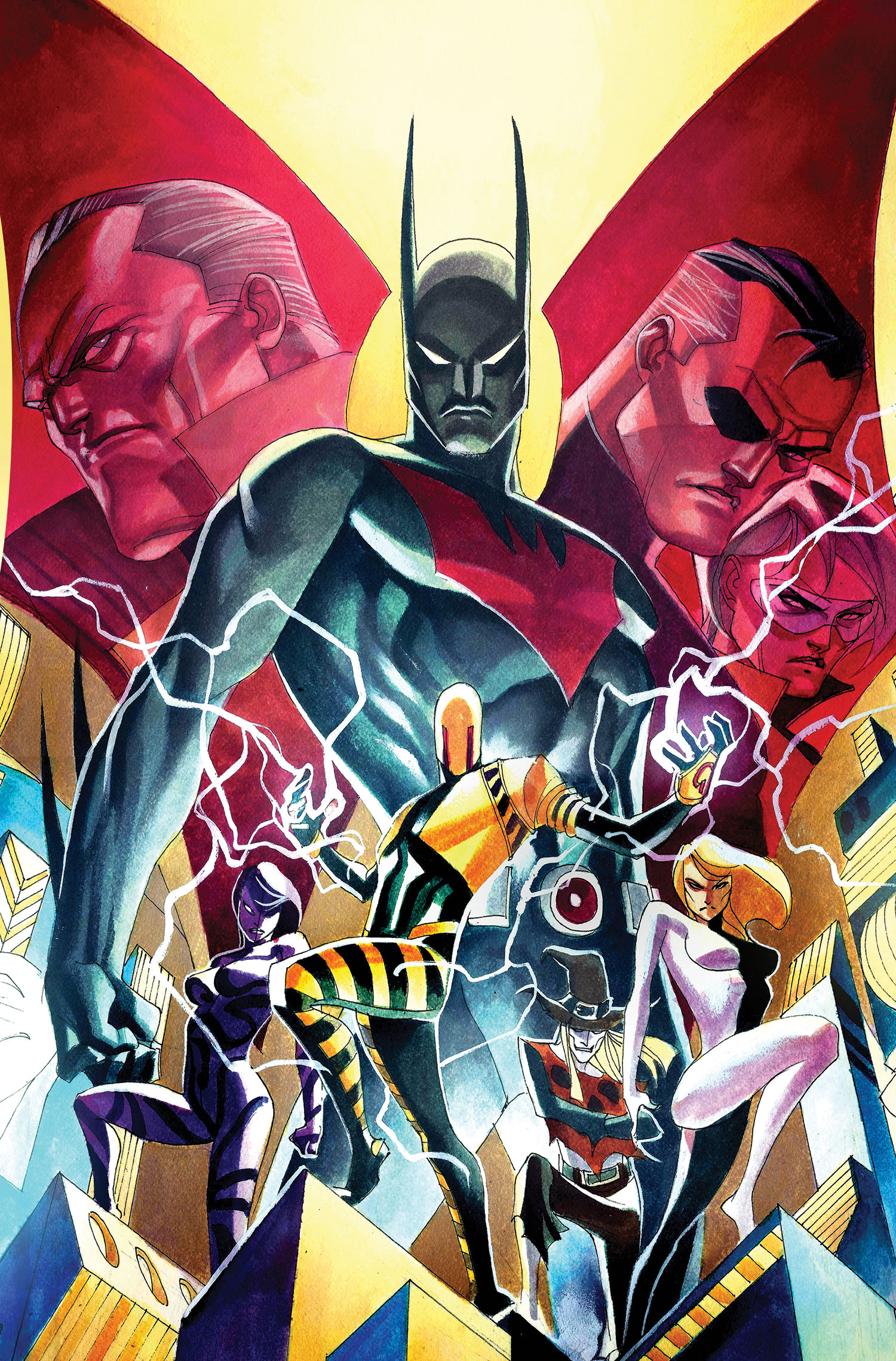 Dc comics universe batman beyond spoilers here comes robin beyond is this the beginning or a quick end