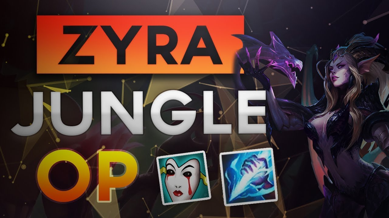 League of legends rampage zyra edit