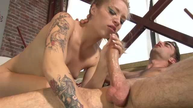Anal fisting and monster strap on domination for phoenix