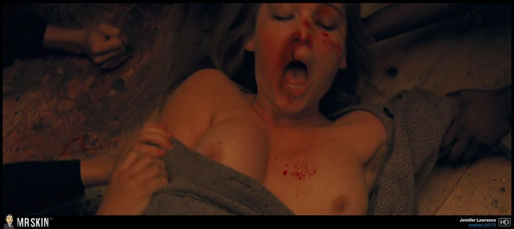 Jennifer lawrence naked tits in shower from red sparrow