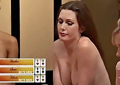 Pornstars playing strip poker babe hot hardcore and big