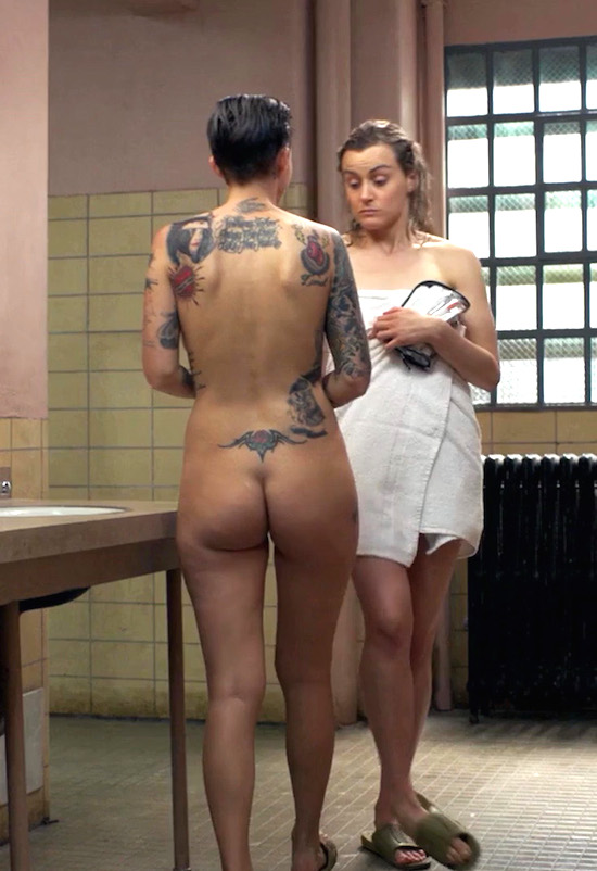 Ruby rose naked in orange is the new black