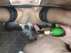 Creampie her hot shaved ebony pussy porn video tube