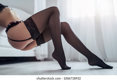 Women in stockings photos